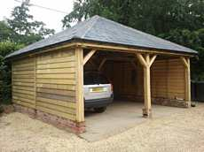 Oak barn, carport, roofing / image 2