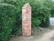 Brick work, entrance gate / image 1